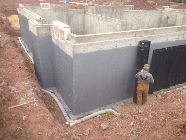 Elastomeric Sheet Waterproofing : Graywall waterproofing advanced coatings inc