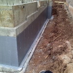 Graywall Waterproofing Completed Wall