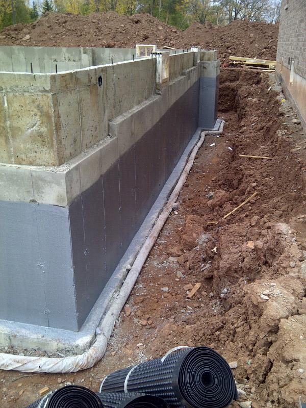 Sheet Applied Waterproofing Membrane : Graywall waterproofing advanced coatings inc