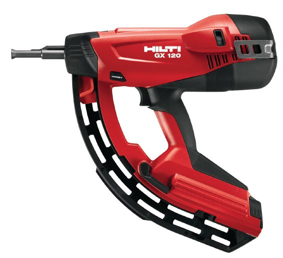 hilti gx 120 gas actuated fastening system advanced coatings inc. Black Bedroom Furniture Sets. Home Design Ideas