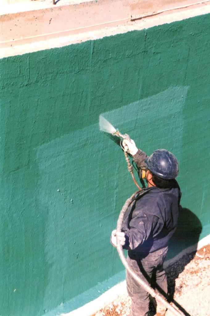 Rub R Wall Residential Waterproofing Advanced Coatings Inc