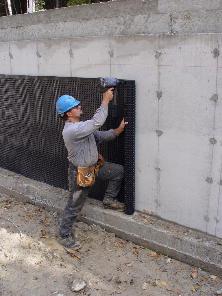 Wrap N Drain Air Gap Membrane Advanced Coatings Inc