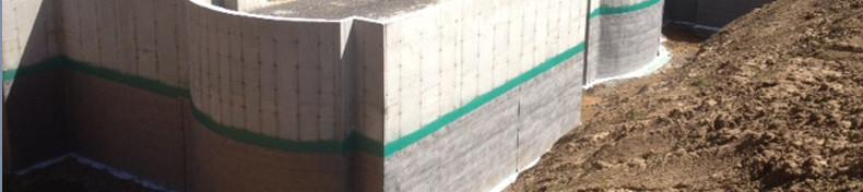 Geo-wrap-drainage